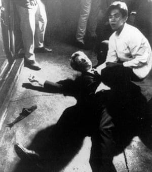 Boris Yaro's  photograph of the Robert F. Kennedy assassination