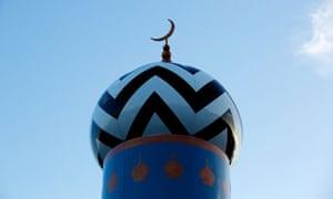 The start of Ramadan is marked at the Masjid-e-Raza mosque in Blackburn, Lancashire