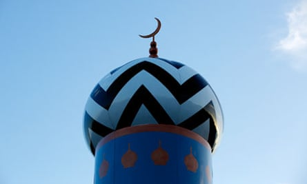The start of Ramadan is marked at the Masjid-e-Raza mosque in Blackburn, Lancashire