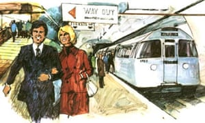 An artist's impression of the Picc-Vic tunnel project in Manchester, which was abandoned in 1977