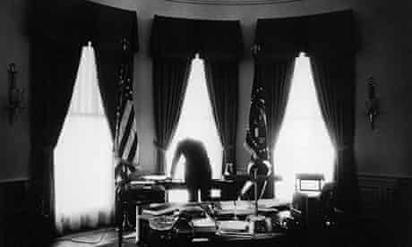 resident John F. Kennedy in the Oval Office, May 1961