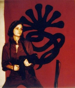 Patty Hearst - a picture from the past