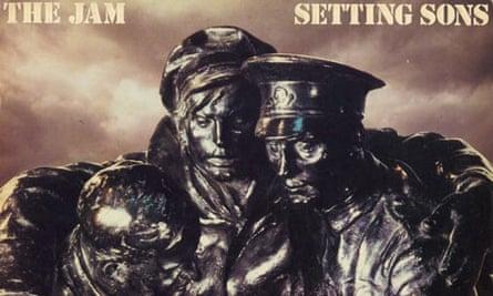 The Jam's Setting Sons album cover
