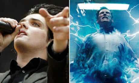 Gerard Way and Dr Manhattan from Watchmen