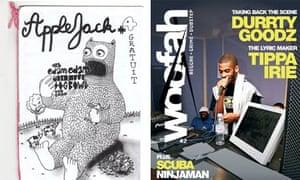 Fanzines AppleJack and Woofah