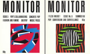 Simon Reynolds's Monitor fanzine