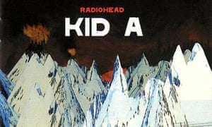 Sleeve for Radiohead's Kid A