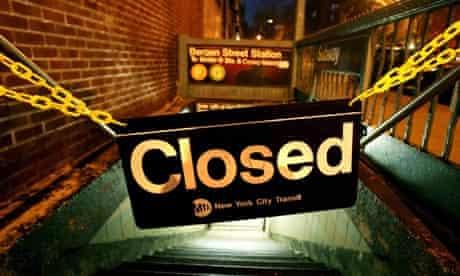 Closed Subway station