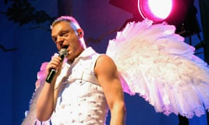 Erasure's Andy Bell performing in Dublin