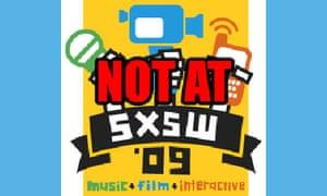 Not at SXSW logo