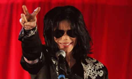 Michael Jackson announces his plans for a summer residency at the O2 Arena