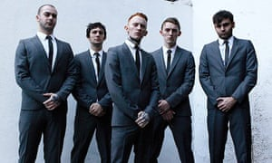 Gallows with lead singer Frank Carter in the centre