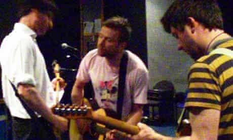 Blur rehearsing