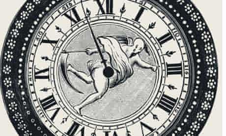 History Clock records logo