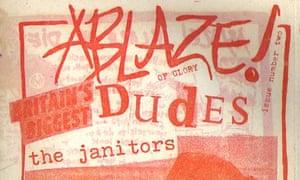 Ablaze fanzine from late 1980s