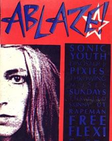 Ablaze! fanzine from the late 1980's