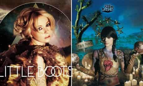 Little Boots and Bat for Lashes pagan album sleeves