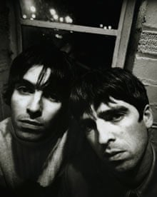 Liam and Noel Gallagher from Oasis