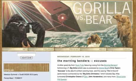Music blog Gorilla Vs Bear