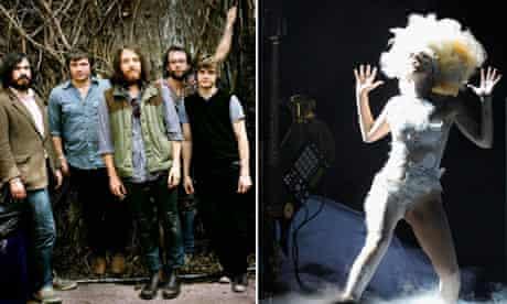 Fleet Foxes and Lady Gaga