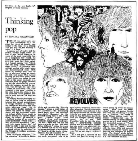 Thinking pop: Revolver by The Beatles.