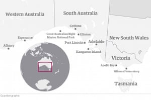 Locations around the Great Australian Bight