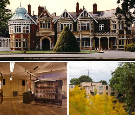 Bletchley Park, inside and out