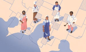 'When the kitchen becomes a place of business .. white faces are the ones that dominate … The women of color fall out.'
