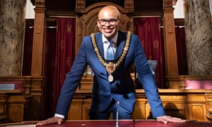 Dan De'Ath, the lord mayor of Cardiff
