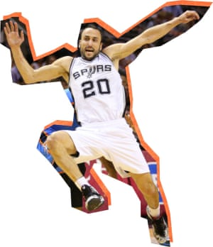Manu Ginobili was known for his simulation skills during his career