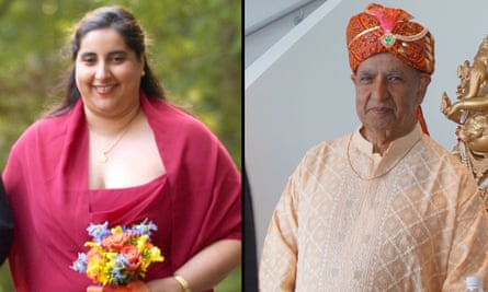 Dr Priya Khanna, left, and her father Dr Satyender Khanna both fell ill with coronavirus in March. They never recovered.